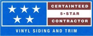 NC Siding & Windows: Certainteed 5-Star Contractor