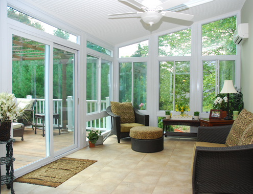 Sunrooms nc siding and windows for All season rooms
