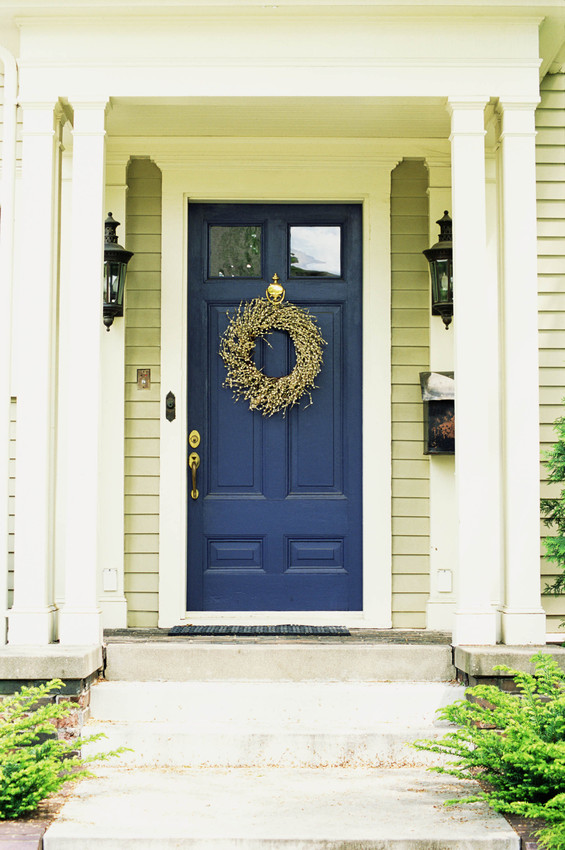 be door up your homeu0027s exterior simply with an interesting door color just be sure the color you choose no matter how bold complements your