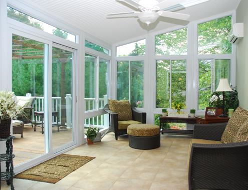 Sunrooms by NC Siding & Windows