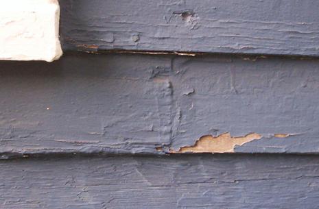 Chipped Siding Two Column Right